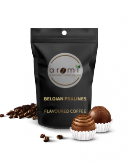 Belgian Pralines - Flavoured Coffee Beans. Fresh Flavoured Coffee For Sale Online | 100% Arabica Aromatic Coffee!