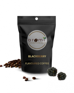 Blackberry - Flavoured Coffee Beans. Fresh Flavoured Coffee For Sale Online | 100% Arabica Aromatic Coffee!