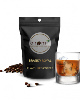 Brandy Royal - Flavoured Coffee Beans. Fresh Flavoured Coffee For Sale Online | 100% Arabica Aromatic Coffee!