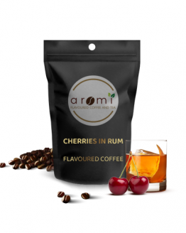 Cherries in rum - Flavoured Coffee Beans. Fresh Flavoured Coffee For Sale Online | 100% Arabica Aromatic Coffee!