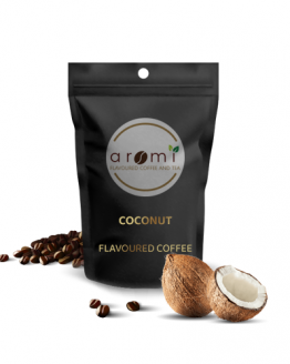 Coconut - Flavoured Coffee Beans. Fresh Flavoured Coffee For Sale Online | 100% Arabica Aromatic Coffee!