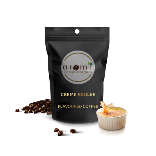 Creme brulee - Flavoured Coffee Beans. Fresh Flavoured Coffee For Sale Online | 100% Arabica Aromatic Coffee!