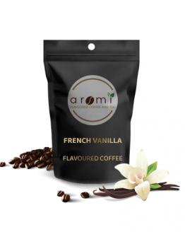 French vanilla- Flavoured Coffee Beans. Fresh Flavoured Coffee For Sale Online | 100% Arabica Aromatic Coffee!