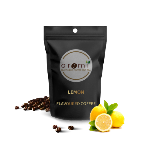 Lemon - Flavoured Coffee Beans. Fresh Flavoured Coffee For Sale Online | 100% Arabica Aromatic Coffee!