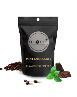 Mint Chocolate - Flavoured Coffee Beans. Fresh Flavoured Coffee For Sale Online | 100% Arabica Aromatic Coffee!