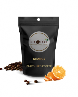 Orange - Flavoured Coffee Beans. Fresh Flavoured Coffee For Sale Online   100% Arabica Aromatic Coffee!