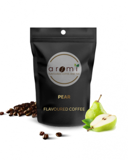 Pear - Flavoured Coffee Beans. Fresh Flavoured Coffee For Sale Online | 100% Arabica Aromatic Coffee!