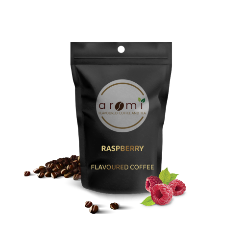 Raspberry - Flavoured Coffee Beans. Fresh Flavoured Coffee For Sale Online   100% Arabica Aromatic Coffee!
