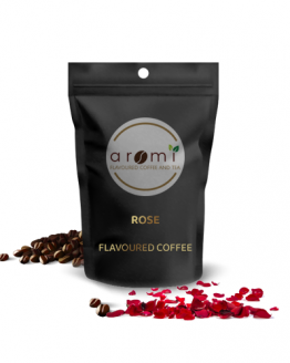 Rose - Flavoured Coffee Beans. Fresh Flavoured Coffee For Sale Online | 100% Arabica Aromatic Coffee!