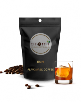 Rum - Flavoured Coffee Beans. Fresh Flavoured Coffee For Sale Online | 100% Arabica Aromatic Coffee!