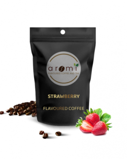 Strawberry - Flavoured Coffee Beans. Fresh Flavoured Coffee For Sale Online   100% Arabica Aromatic Coffee!