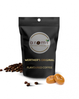 werther's original - Flavoured Coffee Beans. Fresh Flavoured Coffee For Sale Online | 100% Arabica Aromatic Coffee!