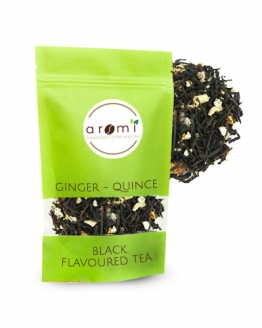 Product Image - Black Flavoured Tea - Ginger - Quince