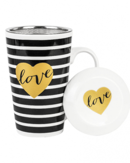 Mug with Filter - Amore - Love