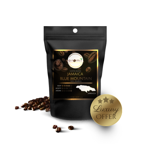 Jamaica Blue Mountain - Natural Coffee Beans - LUXURY offer