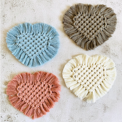 Coasters - Heart - All Colours